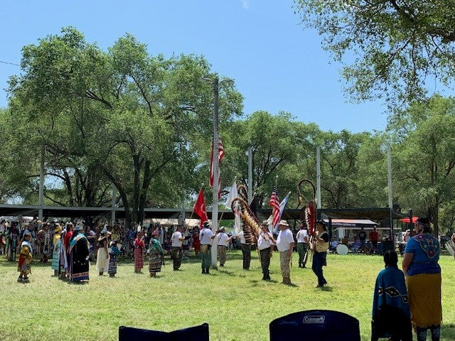 A powwow of the the Santee Sioux Nation in Nebraska
